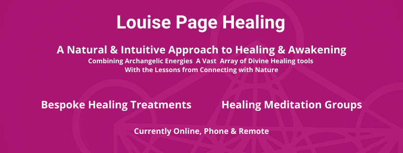 Louise Page Healing A Natural Intuitive approach to Healing and Awakening